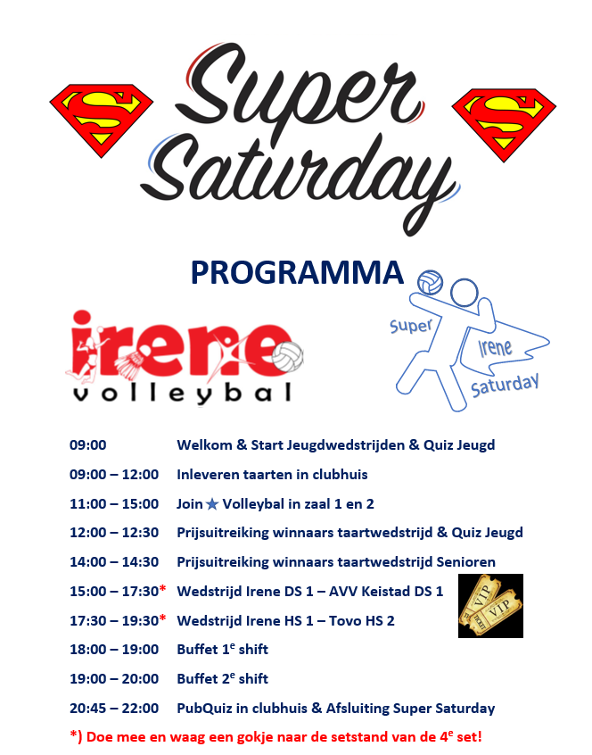 Super Saturday Programma